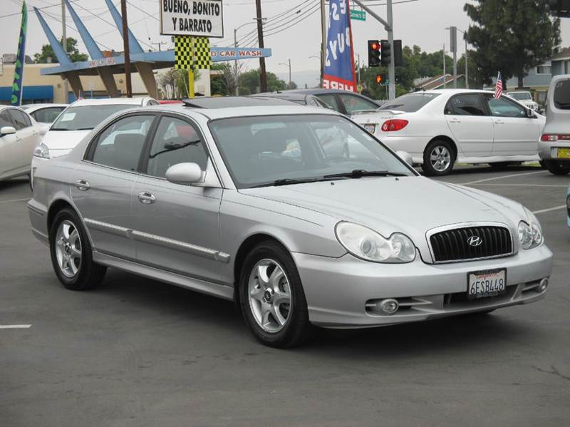 2005 hyundai sonata gls 4dr sedan in whittier ca valley for Valley view motors whittier ca