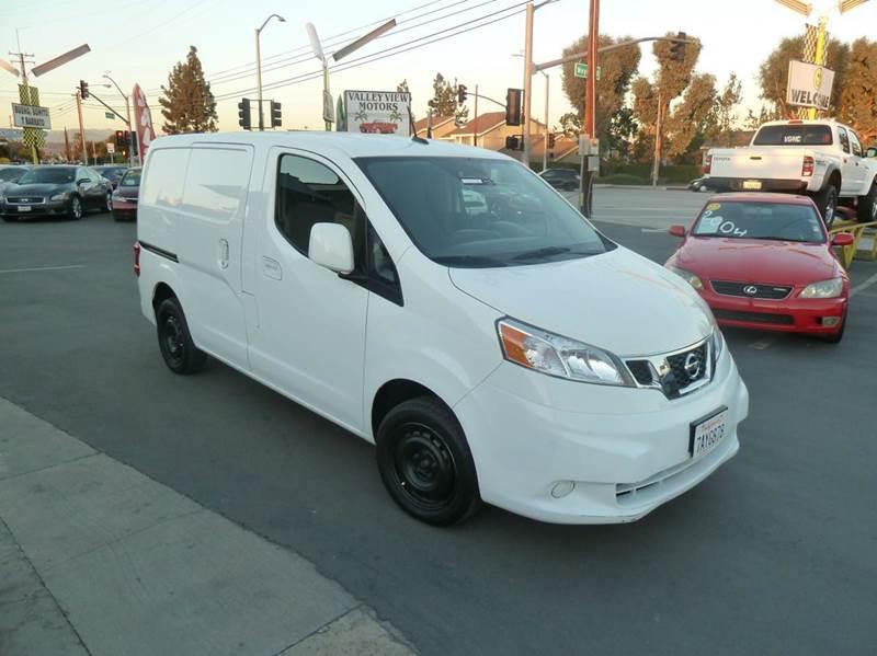 2013 nissan nv200 sv 4dr cargo mini van in whittier ca for Valley view motors whittier ca
