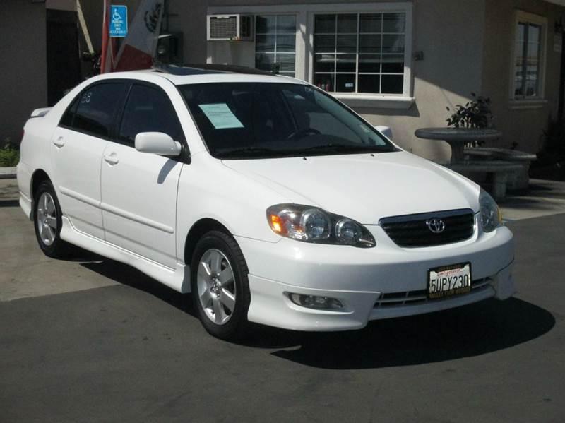 2006 toyota corolla s 4dr sedan w manual in whittier ca for Valley view motors whittier ca