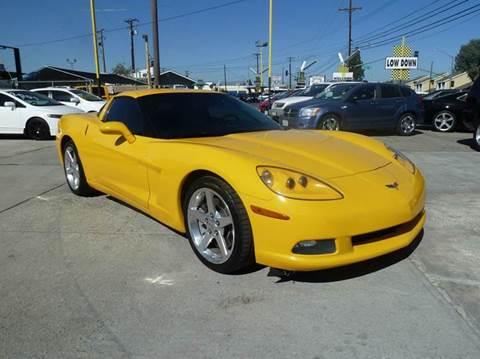 Chevrolet corvette for sale whittier ca for Valley view motors whittier ca