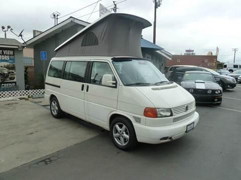 Volkswagen eurovan for sale for Valley view motors whittier ca