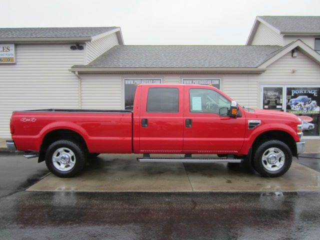 2009 ford f 250 super duty 4x4 xlt 4dr crew cab 8 ft lb pickup in akron oh portage car and. Black Bedroom Furniture Sets. Home Design Ideas