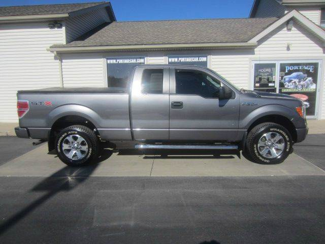 2012 ford f 150 4x4 stx 4dr supercab styleside 6 5 ft sb in akron oh portage car and truck. Black Bedroom Furniture Sets. Home Design Ideas