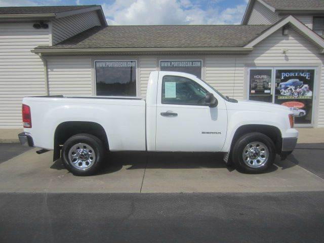 2011 gmc sierra 1500 4x2 work truck 2dr regular cab 6 5 ft sb in akron oh portage car and. Black Bedroom Furniture Sets. Home Design Ideas