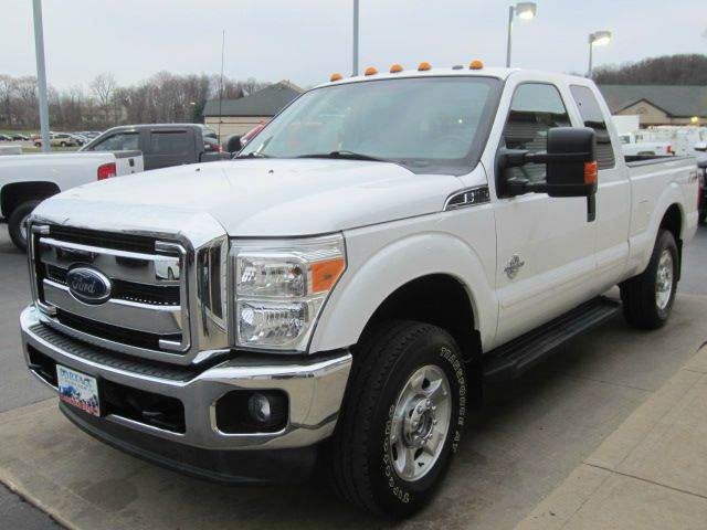 2012 Ford F-250 Super Duty 4x4 XLT 4dr SuperCab 6.8 ft. SB Pickup - Akron OH