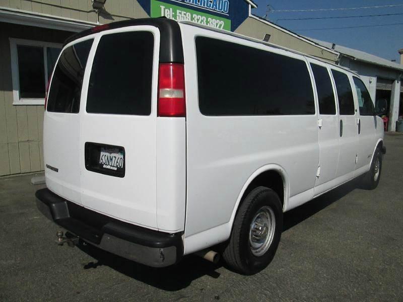 2004 Chevrolet Express Passenger  - Clovis CA