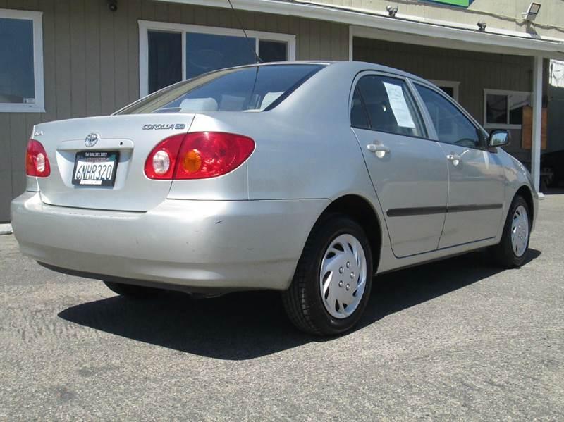 2003 Toyota Corolla CE 4dr Sedan - Clovis CA