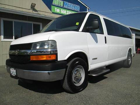 2004 Chevrolet Express Passenger for sale in Clovis, CA