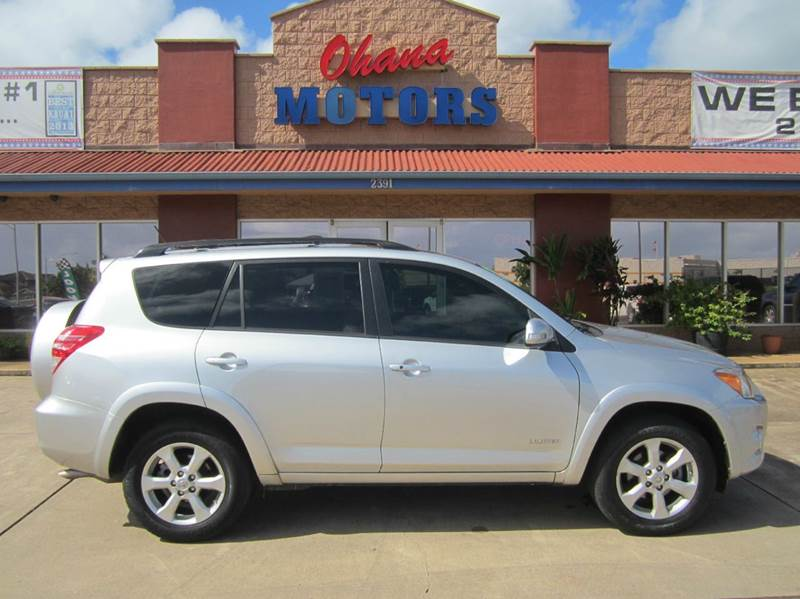 2010 toyota rav4 limited 4x4 4dr suv v6 in lihue hi. Black Bedroom Furniture Sets. Home Design Ideas