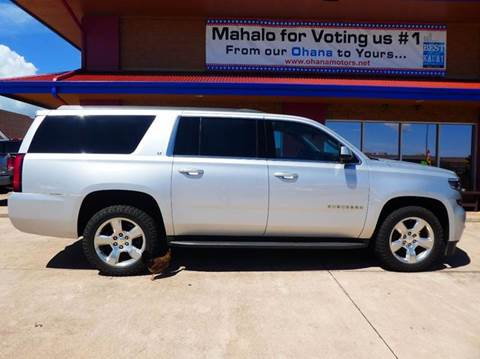 2015 Chevrolet Suburban for sale in Ohana Motors-Across From Costco Gas- Lihue, HI