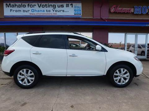 2014 Nissan Murano for sale in Ohana Motors-Across From Costco Gas- Lihue, HI