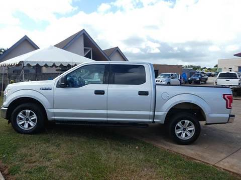 2015 Ford F-150 for sale in Ohana Motors-Across From Costco Gas- Lihue, HI