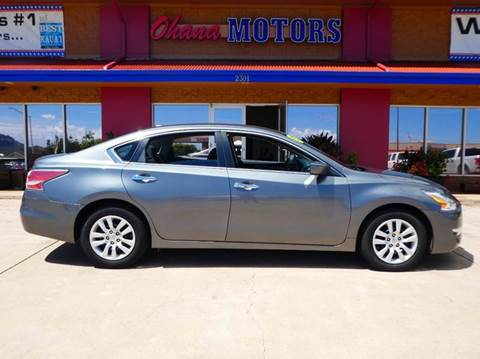 2015 Nissan Altima for sale in Ohana Motors-Across From Costco Gas- Lihue, HI