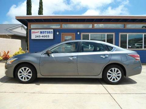 2014 Nissan Altima for sale in Ohana Motors-Across From Costco Gas- Lihue, HI