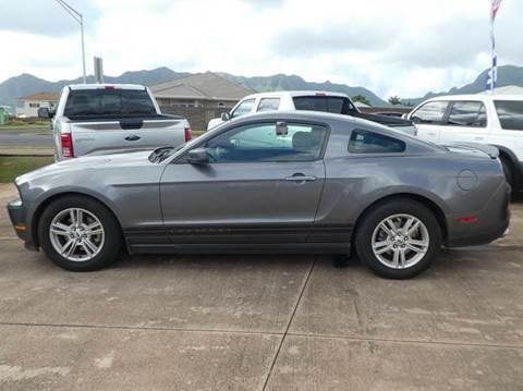2012 Ford Mustang for sale in Ohana Motors-Across From Costco Gas- Lihue, HI
