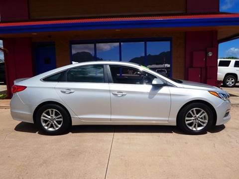 2015 Hyundai Sonata for sale in Ohana Motors-Across From Costco Gas- Lihue, HI