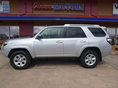 Used toyota 4runner for sale in hawaii for Motor imports toyota honolulu hi 96813