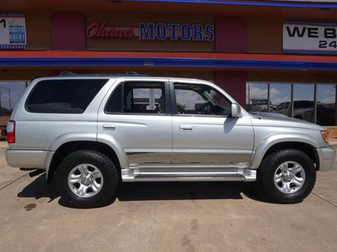 2001 Toyota 4Runner for sale in Ohana Motors-Across From Costco Gas- Lihue, HI