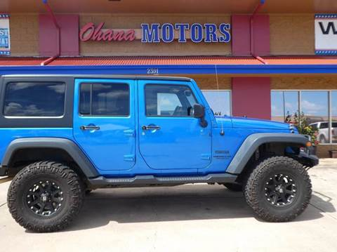 2015 Jeep Wrangler Unlimited for sale in Ohana Motors-Across From Costco Gas- Lihue, HI