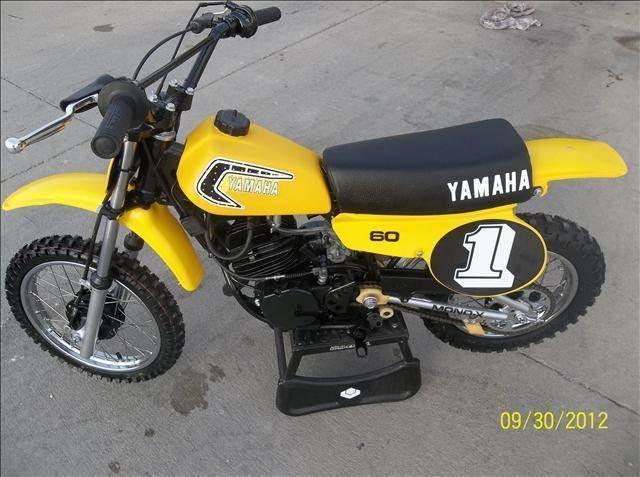 1981 Yamaha YZ60