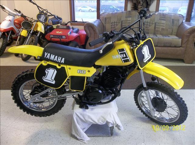 1982 Yamaha YZ60