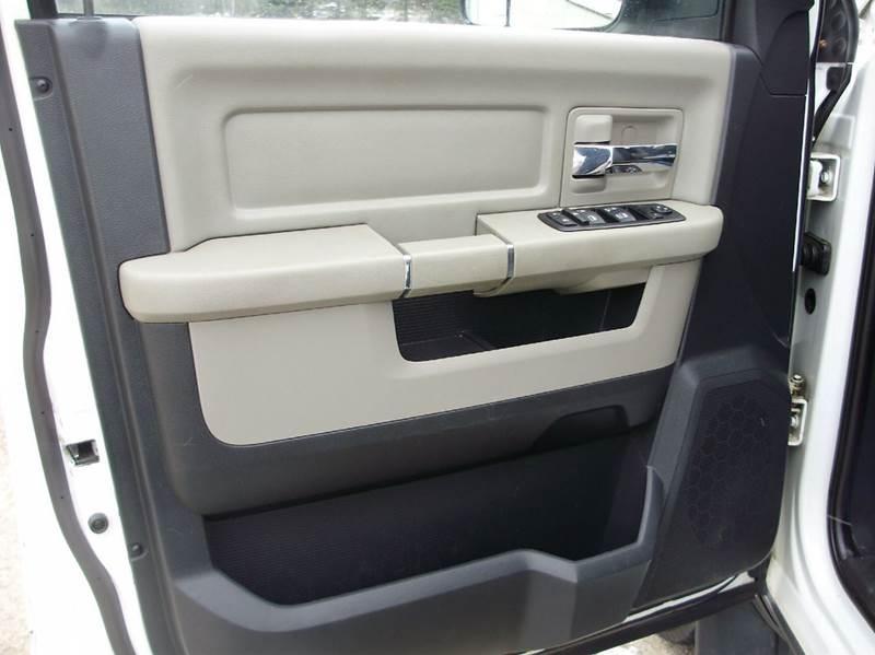 2012 RAM Ram Pickup 1500 4x4 Outdoorsman 4dr Quad Cab 6.3 ft. SB Pickup - Mancelona MI