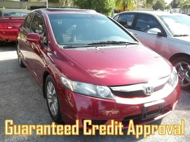 2010 Honda Civic EX 4dr Sedan 5A - Clearwater FL