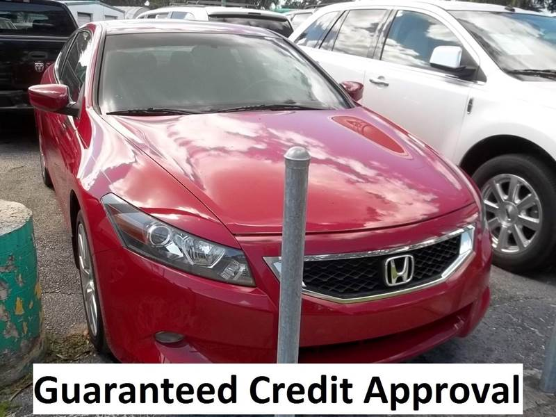 2010 Honda Accord EX-L V6 2dr Coupe 5A - Clearwater FL