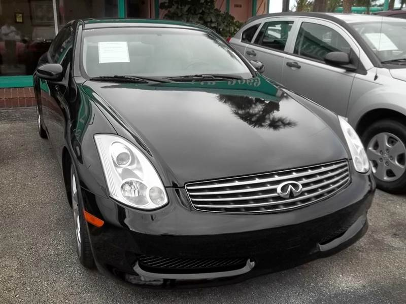 2006 Infiniti G35 2dr Coupe w/automatic - Clearwater FL