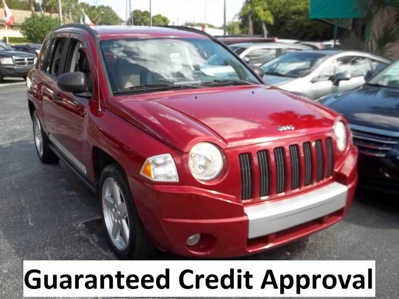 2008 Jeep Compass Limited 4dr SUV w/CJ1 - Clearwater FL