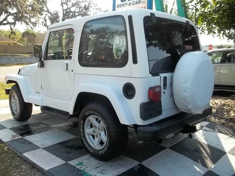 2000 Jeep Wrangler 2dr Sahara 4WD SUV - Clearwater FL