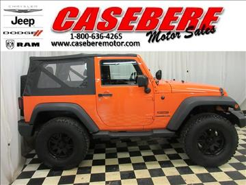 2012 Jeep Wrangler for sale in Bryan, OH