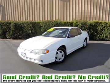2001 Chevrolet Monte Carlo for sale in Manteca, CA