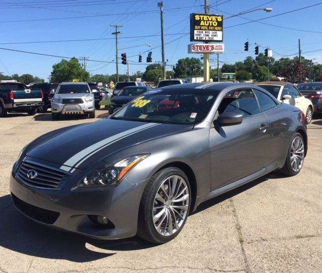 2012 Infiniti G37 Convertible Sport 2dr Convertible In
