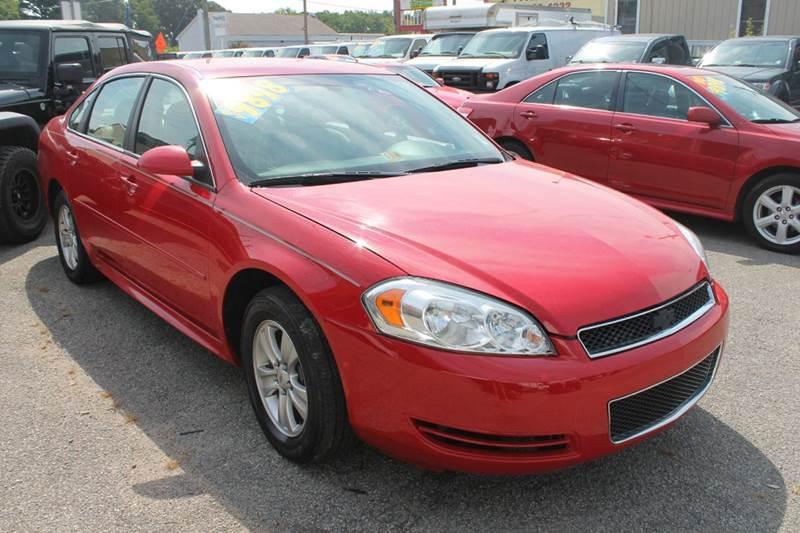 2012 Chevrolet Impala LS Fleet 4dr Sedan - Norfolk VA