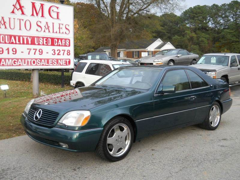 Vehicle options for 1995 mercedes benz s600