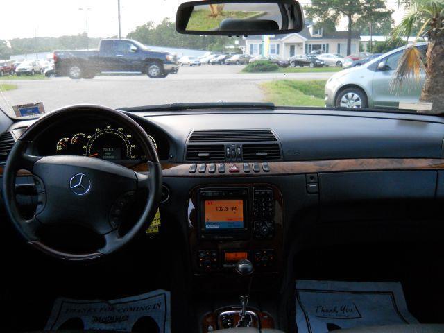 2002 Mercedes S Class Interior