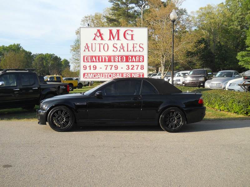 2001 Bmw M3 2dr Convertible In Raleigh Nc Amg Auto Sales Inc