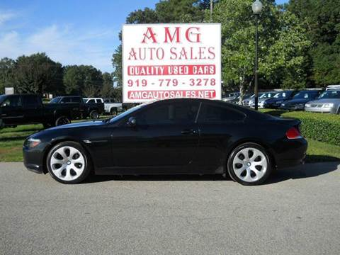 bmw 6 series for sale in north carolina. Cars Review. Best American Auto & Cars Review