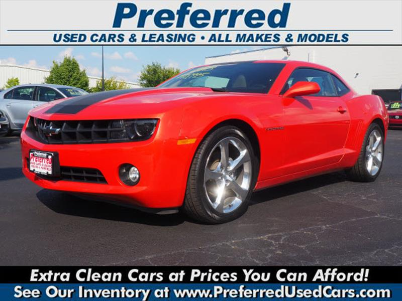 2013 Chevrolet Camaro Lt 2dr Coupe W2lt In Fairfield Oh Preferred
