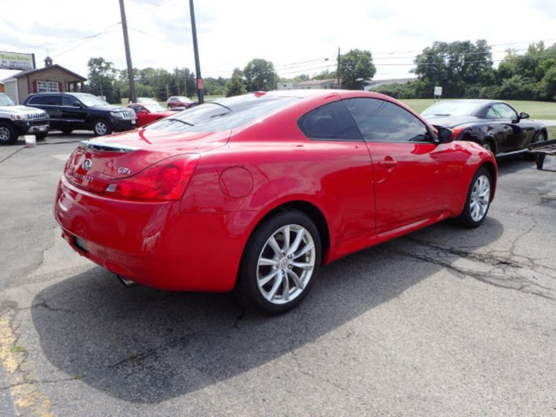 Infiniti G Coupe AWD X Dr Coupe In Fairfield OH - Infiniti finance address