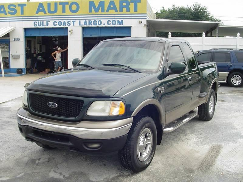 2001 ford f 150 lariat 4dr supercab 4wd flareside sb in st petersburg fl gulf coast auto mart inc. Black Bedroom Furniture Sets. Home Design Ideas