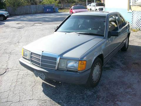 1988 Mercedes-Benz 190-Class for sale in St Petersburg, FL