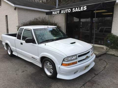 2001 Chevrolet S-10 for sale in Roanoke, VA