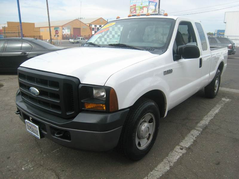 2006 ford f 250 super duty xl 4dr supercab lb in stockton ca valley auto sales and advanced. Black Bedroom Furniture Sets. Home Design Ideas