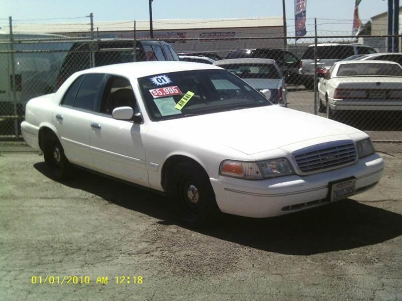 Ford Crown Victoria LX Dr Sedan In Stockton CA Valley Auto - 2001 crown victoria