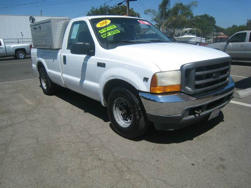 2001 ford f 250 super duty 2dr standard cab xlt 2wd lb in stockton ca valley auto sales and. Black Bedroom Furniture Sets. Home Design Ideas