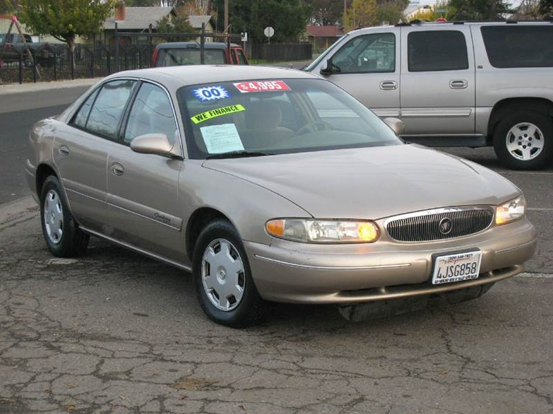 2000 Buick Century Custom 4dr Sedan In Stockton Ca Valley Auto Sales And Advanced Equipment