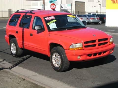 2001 Dodge Durango for sale in Stockton, CA