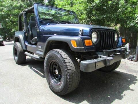 2004 Jeep Wrangler for sale in Vineland, NJ